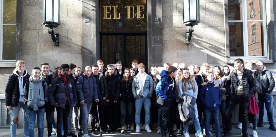 Exkursion der Kurse katholische Religionslehre Jahrgang 9